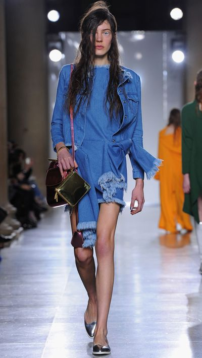 Marques' Almeida's riff on early-'90s denim would be a Full House wardrobe department staple.