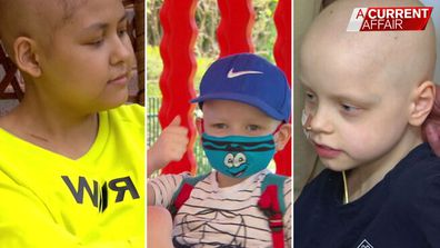 Christmas surprise for children with cancer