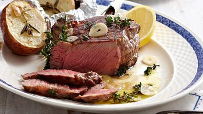 "Recipe:&nbsp;<a href=""http://kitchen.nine.com.au/2016/05/13/12/49/italian-rib-eye"" target=""_top"" draggable=""false"">Italian rib eye</a>"