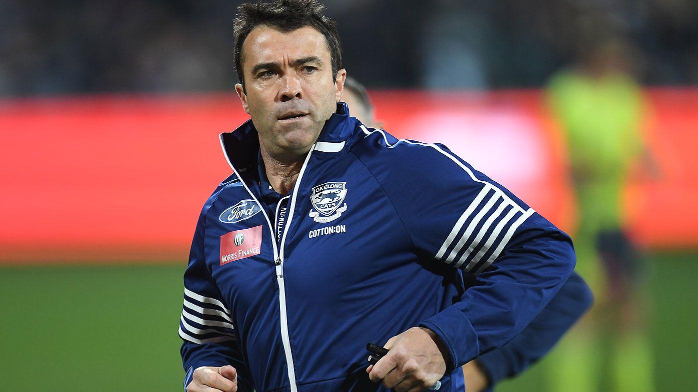 Geelong coach Chris Scott calls on AFL to allow finals games at GMHBA Stadium