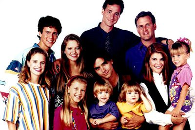 "There are few '80s sitcoms daggier than <I>Full House</I>, which revolved around single dad Danny Tanner (Bob Saget), who lived with his daughters and his best friends in a San Francisco townhouse. Every episode is crammed with lame catchphrases (""How rude!"") and even lamer Very Special Lessons... it'll make you wish they'd just cut it out."