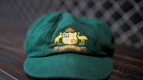 Shane Warne's baggy green cap
