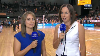 GWS Giants hold off fast-finishing Melbourne Vixens in close contest