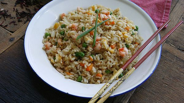 Authentic fried rice