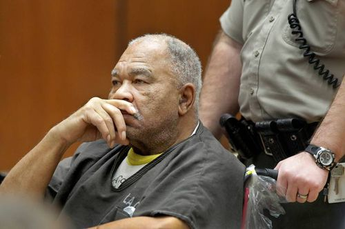 Samuel Little on trial in Los Angeles in 2013 for the murder of three women.