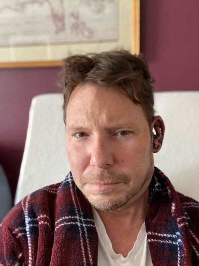 Alexander Gupman had surgery on his ear.