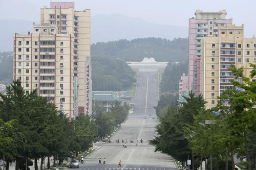 Kaesong border city