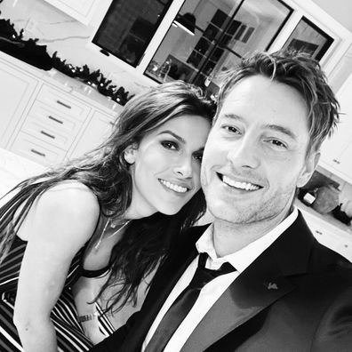 Justin Hartley, girlfriend, actress Sofia Pernas, Instagram official, photo