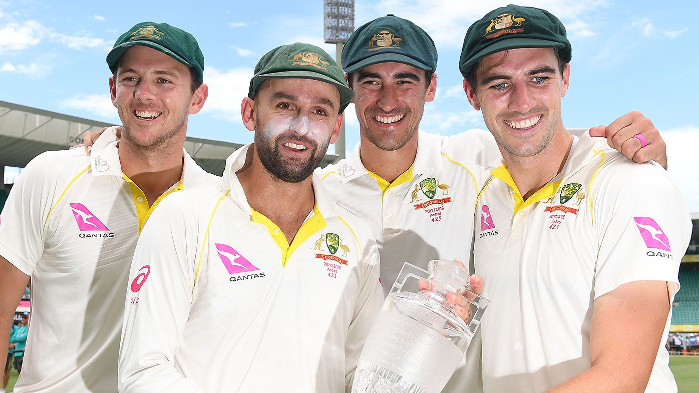 Australia names unchanged Test squad for final two Tests