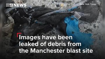 Manchester Attack: Remnants of the improvised bomb