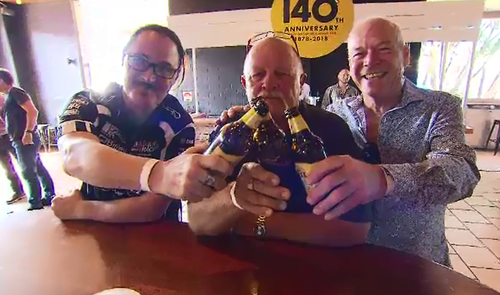 The XXXX brewery is turning 140 today but there isn't a birthday cake, only a new brew.