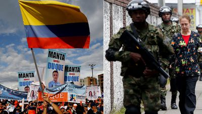 Colombian peace process takes centre stage in election