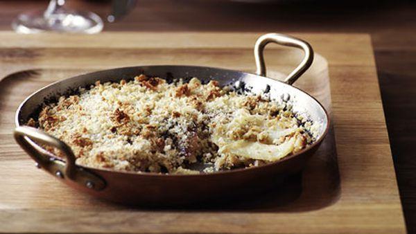 Potato and cabbage gratin