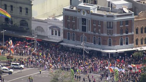 Sydney Mardi Gras LGBTQI+ protests