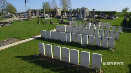 All told, 46,000 Diggers lost their lives in WWI. (9NEWS)