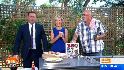 Today hosts stunned by cricket legend's secret burger ingredient