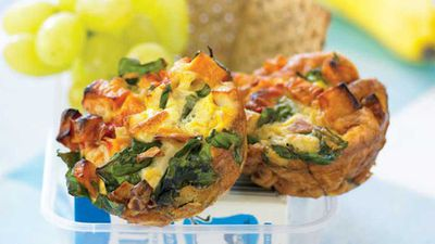 <strong>Vegetable frittata cups</strong>