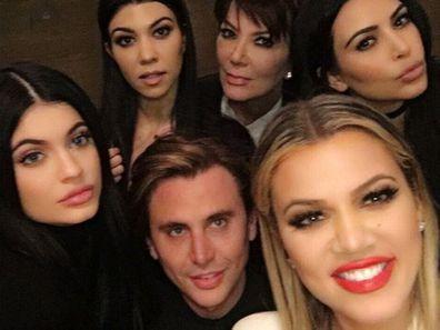 Jonathan Cheban, Khloe Kardashian, Kim Kardashian, Kourtney Kardashian, Kris Jenner, Kylie Jenner