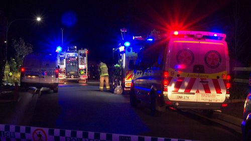A body was found inside the Elderslie house and police are investigating whether it was deliberately lit.