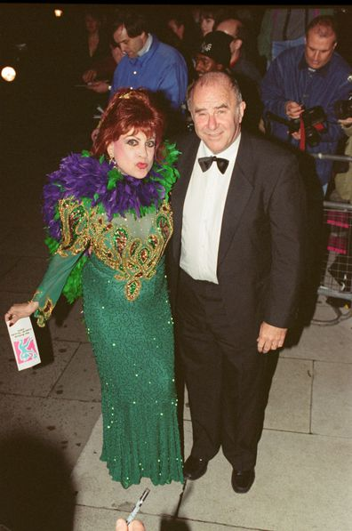 Margarita Pracatan and Clive James