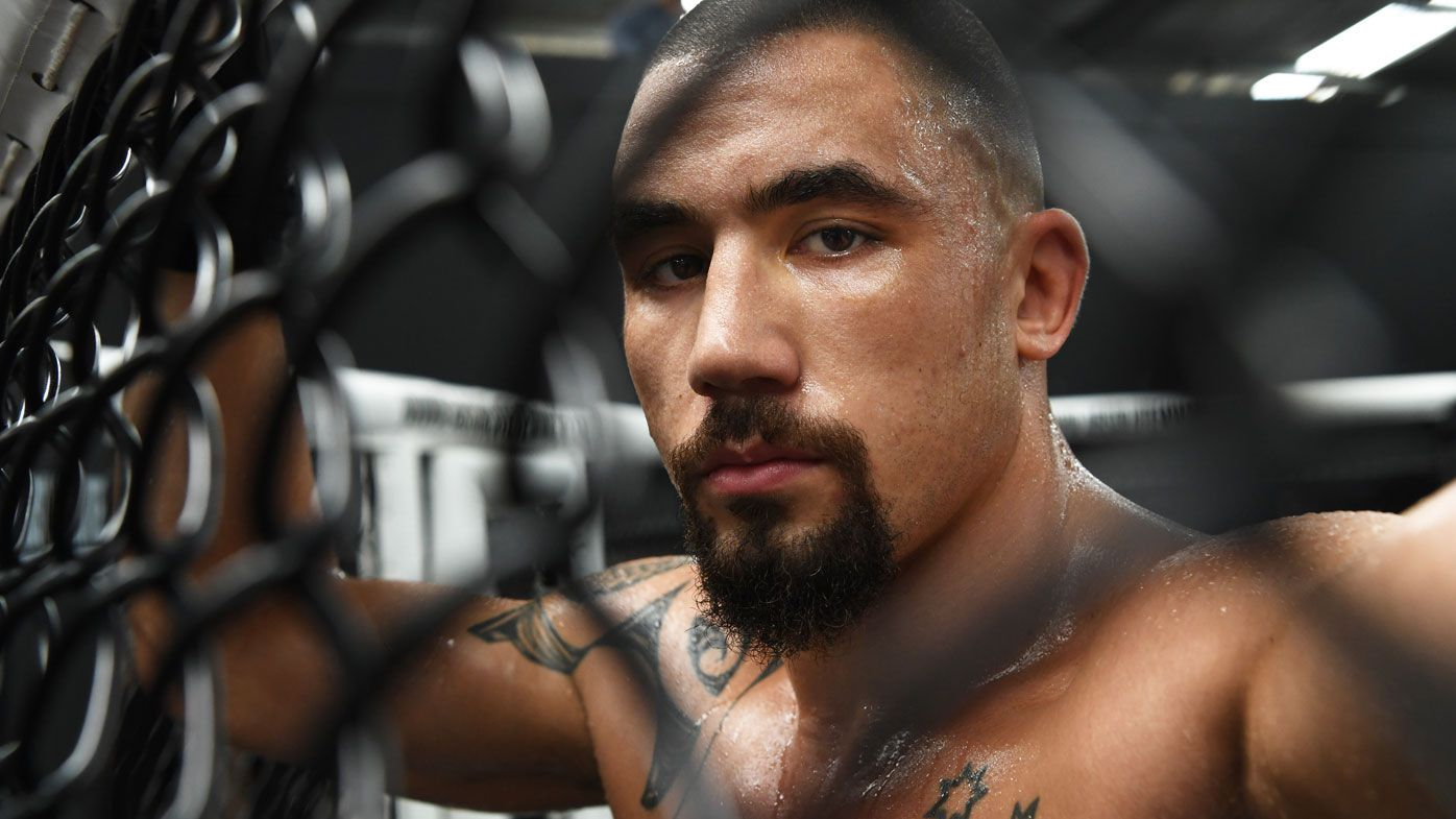 'I've thrashed myself': Robert Whittaker in top shape for UFC title defence against Israel Adesanya