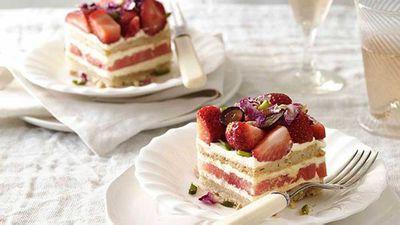 6. Blackstar Pastry's strawberry and watermelon cake
