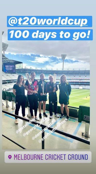 Tammy Beaumont, ICC Women's T20 World Cup, cricket, Instagram, photo