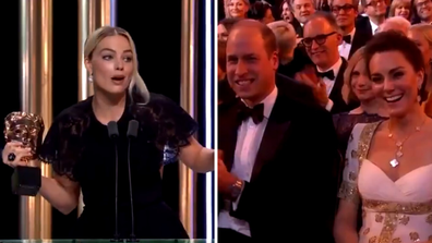 Margot Robbie, William, Kate BAFTAs