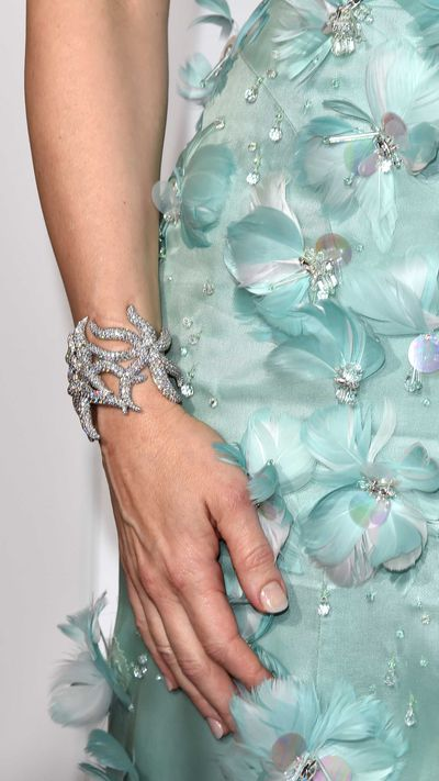 Cate Blanchett's Tiffany & Co. bracelet.