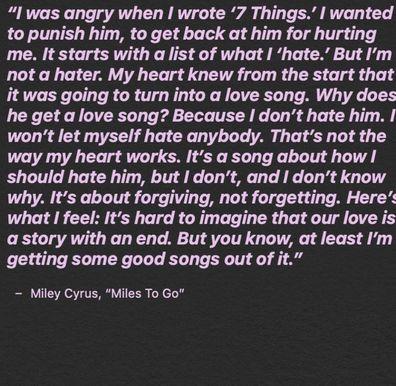 Miley Cyrus, Nick Jonas