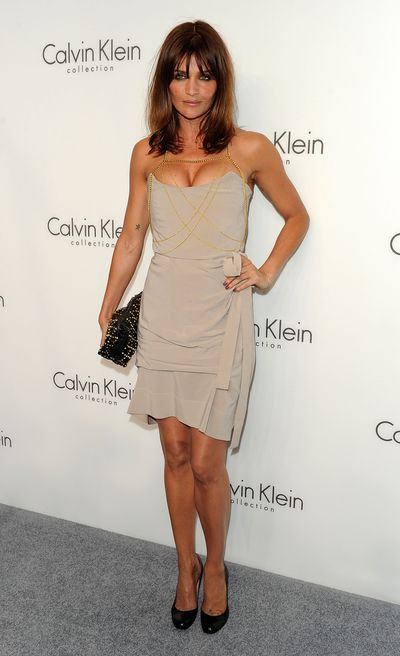 Helena Christen attends the Women's Autumn's 2010 Calvin Klein Collection after party in New York City, 2010