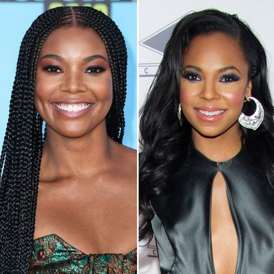 Gabrielle Union and Ashanti