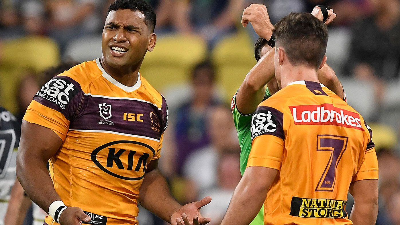 Tevita Pangai Jr set to be hit with monster fine from NRL for COVID-19 breach at barbershop – Wide World of Sports