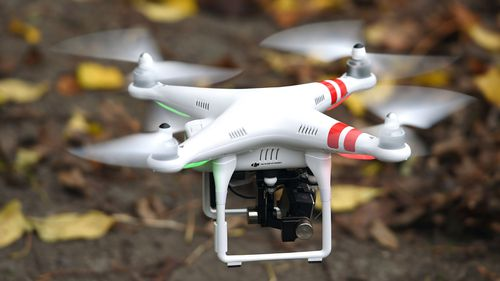Christmas drone receivers lose devices during first flights