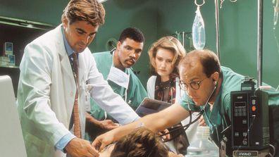 ER, George Clooney, Eriq La Salle, Sherry Stringfield, Anthony Edwards, (Season 1), 1994-2009.