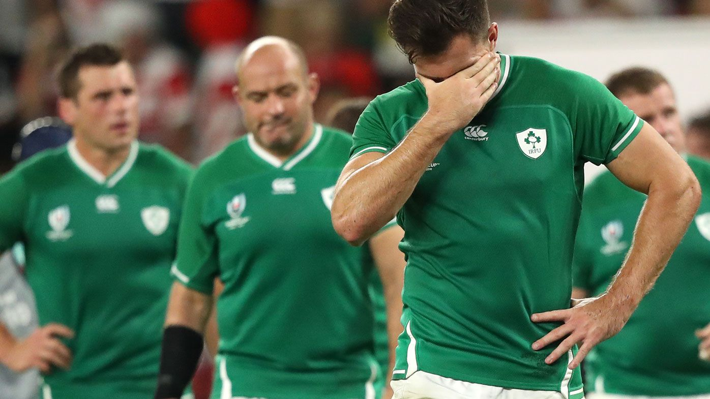 Ireland in mourning: Astonished reaction to huge Rugby World Cup upset