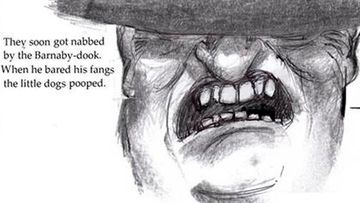 Local artist rewrites ending to the Johnny Depp and Barnaby Joyce dogs saga