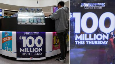 Winners of record $100m Powerball unknown as website crashes
