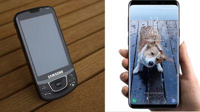 Original Samsung Galaxy vs Samsung Galaxy S9