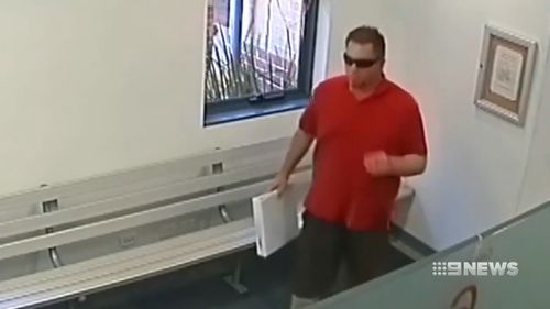 He was seen on CCTV committing the murder.