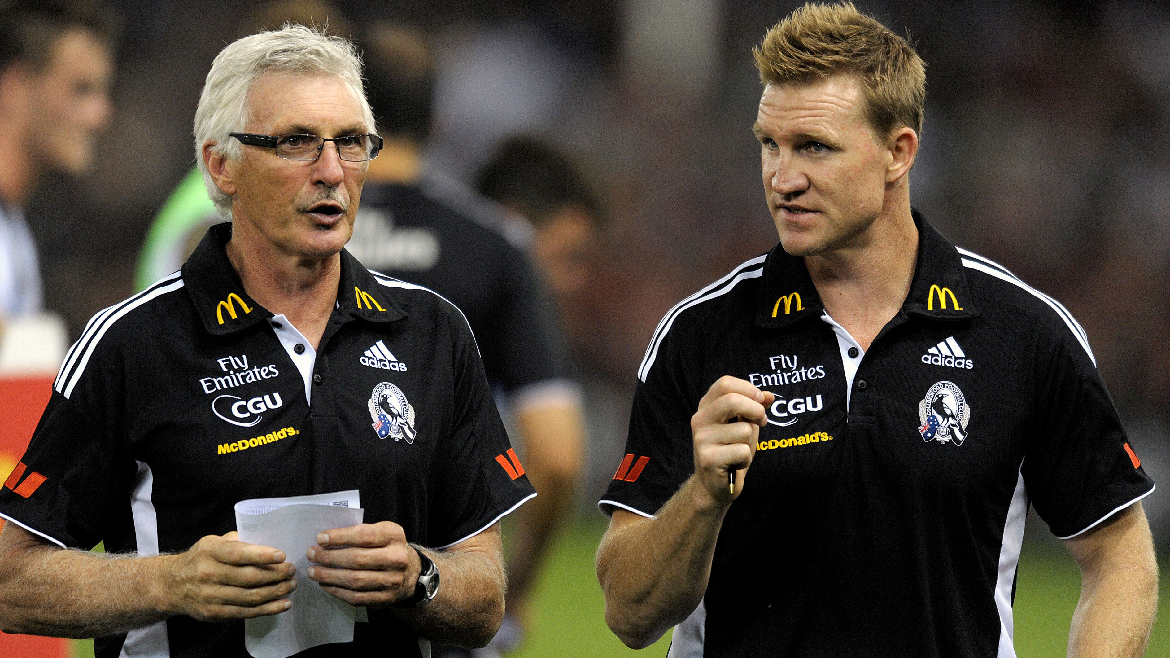Nathan Buckley's frank admission about feud with former Collingwood mentor Mick Malthouse
