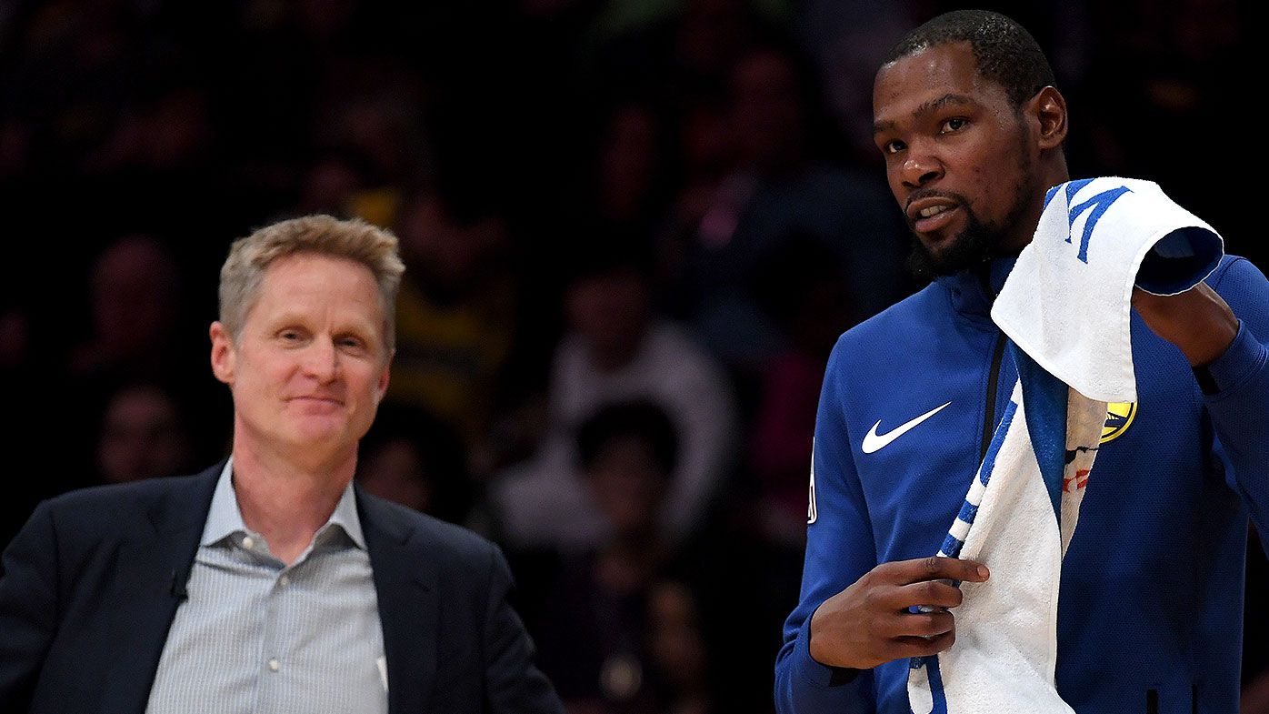 'It was unfair': Steve Kerr's shocking Kevin Durant admission