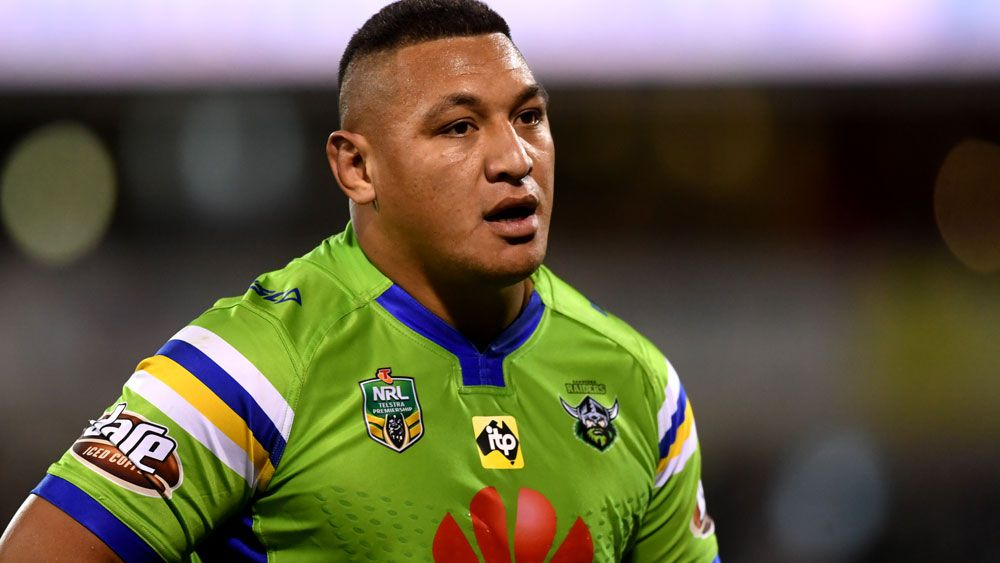 NRL: Canberra Raiders star Josh Papalii facing suspension for shoulder charge on Josh Dugan