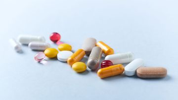 medication pills medicine tablets stock file image photo