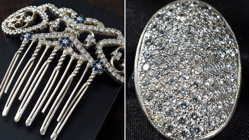 Jewellery worn by Kristen Stewart among the pieces up for auction.