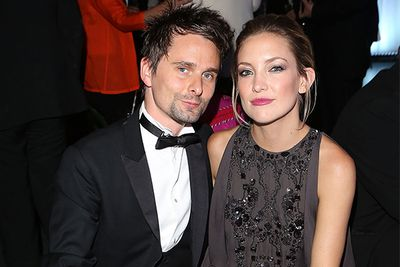 "<b>April 2010: </b> Hudson meets <i>Muse</i> frontman Matt Bellamy Met at Coachella and they start dating.<br/><br/><b>June 2010:</b> It turns serious...with a baby announcement.  ""It was all very old-fashioned and proper, and we went on lovely dates,"" Hudson told Elle UK. ""And two months later I was pregnant … Well, yes [I was shocked].""<br/><br/><b>April 2011: </b>Shortly after Kate gives birth to their son; Bingham Hawn, the pair get engaged! We're still waiting for a wedding...<br/>"