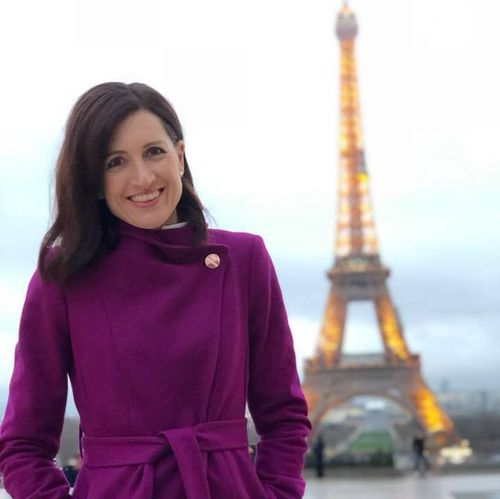 Laurel Irving moved to London to be the network's Europe correspondent earlier this year. Picture: Facebook