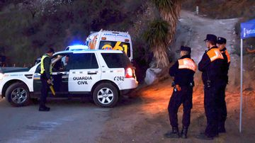 Rescuers in southern Spain are digging a horizontal tunnel in an attempt to rescue a two-year-old toddler.