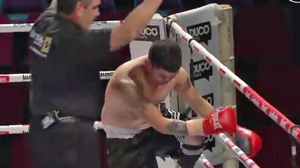 Boxing: Fighter forgets where he is after brutal knockout