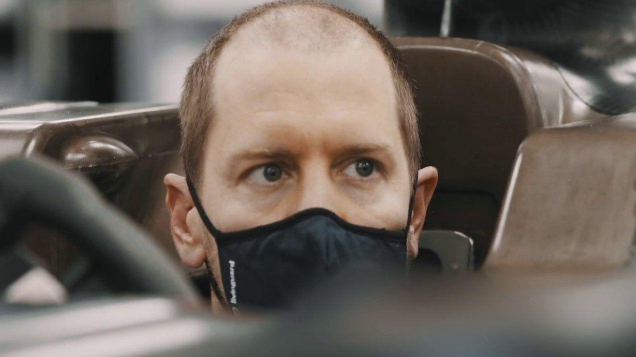 Sebastian Vettel reveals receding hairline after Ferrari stint, internet goes off